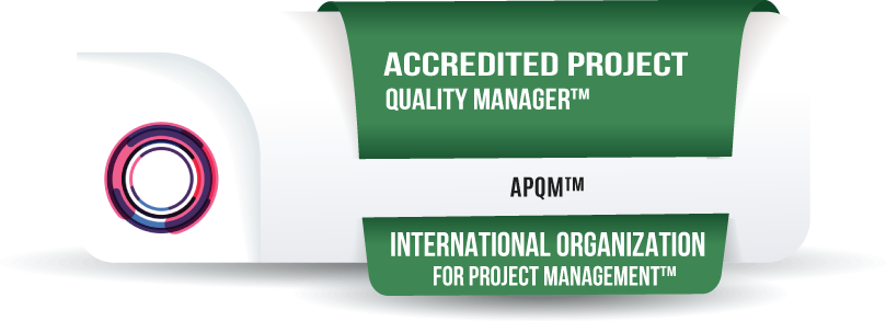 Accredited Project Quality Manager Certification™ (APQM™)