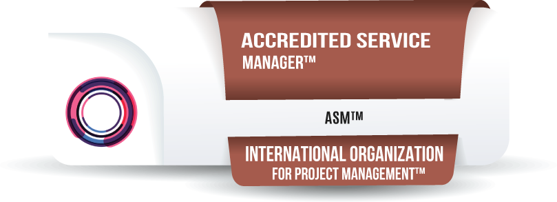 Accredited Service Manager Certification™ (ASM™)