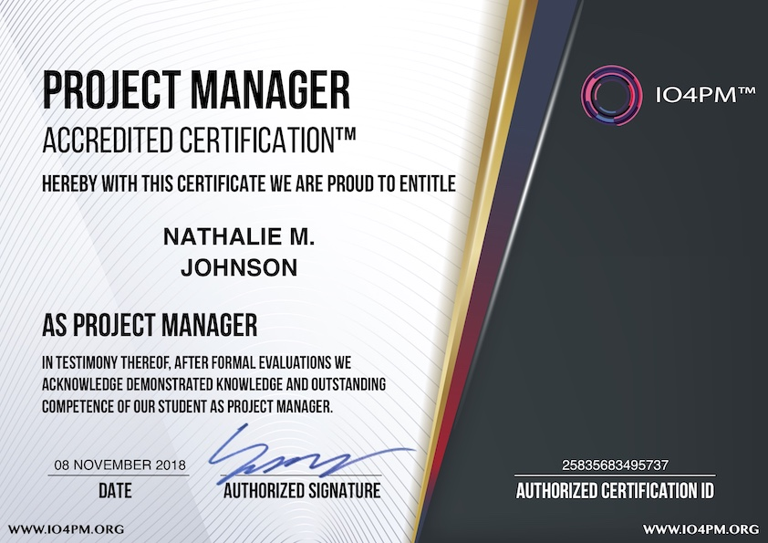 What Is Usd 69 Project Manager Accredited Certification Program